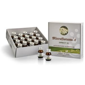 Microflorana F Direct 10 Named 20 Flaconcini