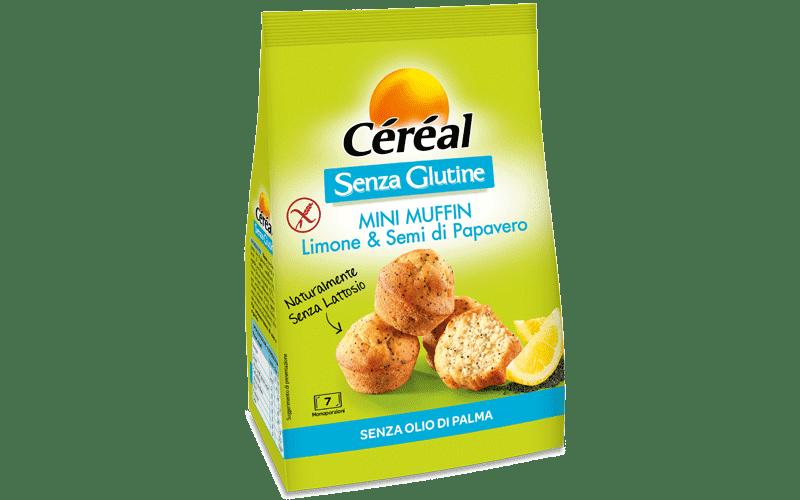 Mini Muffin Limone & Semi Di Papavero Cereal 210g