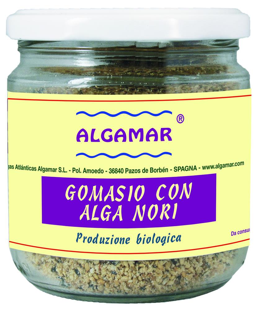 Algamar Gomasio Con Alga Nori Biologico 150g