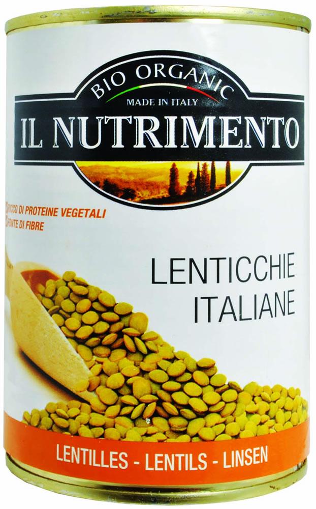 Il Nutrimento Lenticchie Al Naturale Biologiche 400g