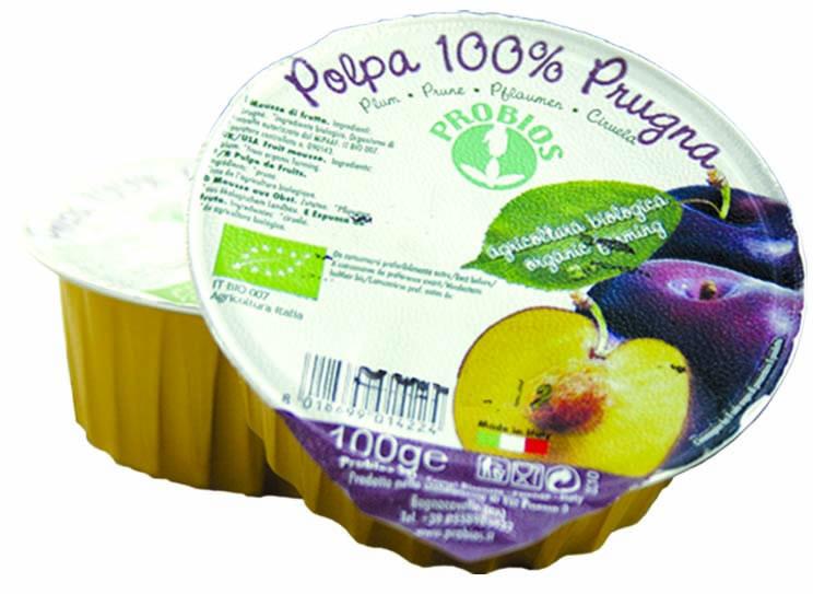 Probios Frutta Polpa Di Prugna Biologica 100g