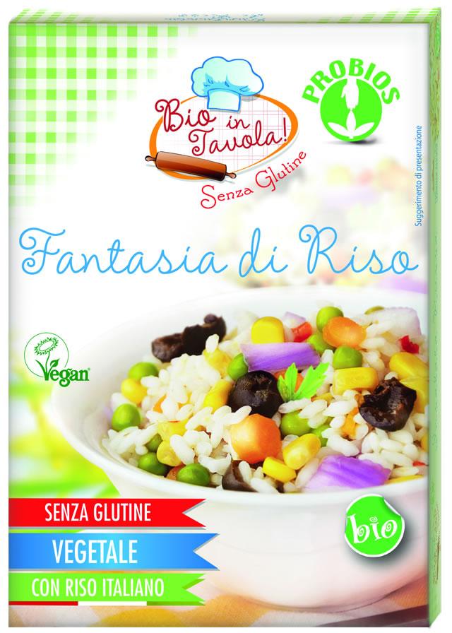 Bio In Tavola Fantasia Di Riso Biologica 300g