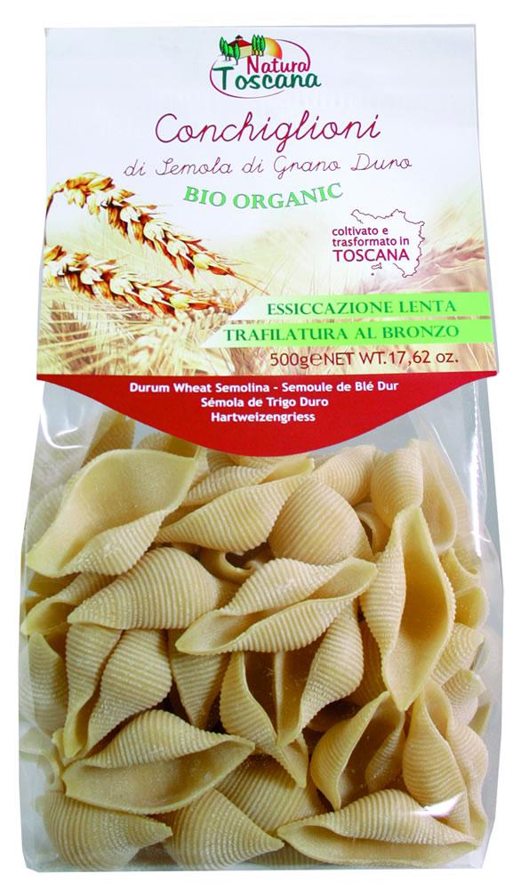 Natura Toscana Conchiglioni Biologici Di Frumento 500g