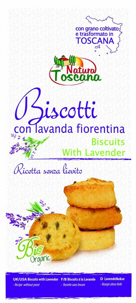 Natura Toscana Biscotti Con Lavanda Fiorentina 200g