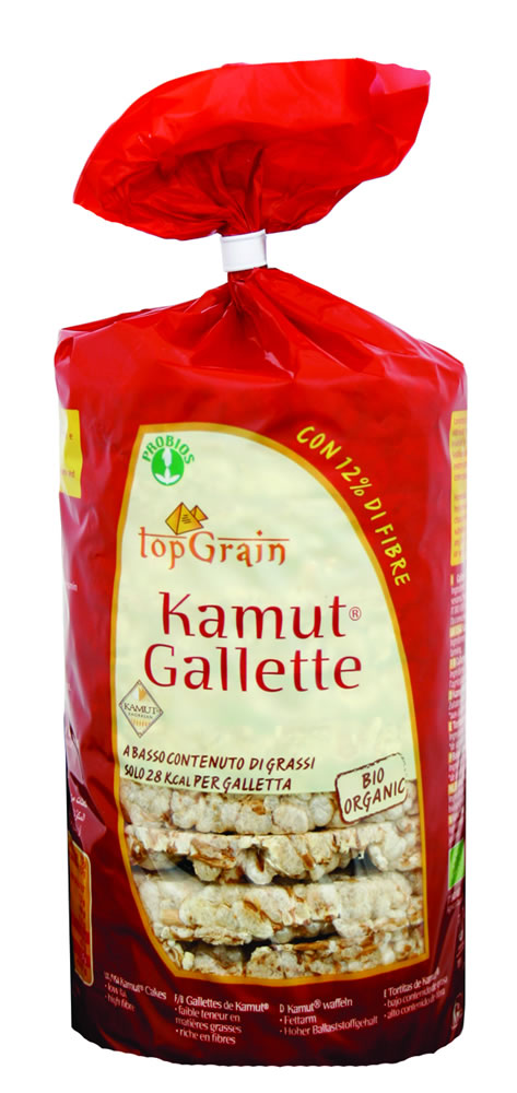 TopGrain Gallette Di Kamut Senza Sale Biologiche 100g