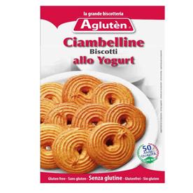 Image of Agluten Biscotti Ciambelline Allo Yogurt Senza Glutine 200g 904068576
