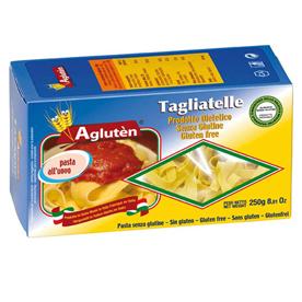 Image of Agluten Tagliatelle All'Uovo Pasta Senza Glutine 250g 904068640