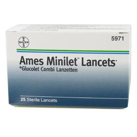 Image of Ames Minilet Lancet 25pz 908170501