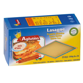 Image of Agluten Lasagne Pasta All'Uovo Senza Glutine 250g 911049613