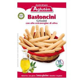 Image of Agluten Bastoncini All'Olio Extravergine Di Oliva Senza Glutine 150g 912806142