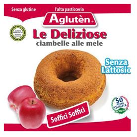 Image of Agluten Le Deliziose Ciambelle Alle Mele Senza Glutine 220g 913541189
