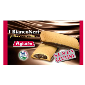 Image of Agluten I BiancoNeri Snack Senza Glutine 40g 921509283