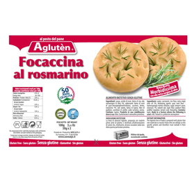 Image of Agluten La Focaccia Toscana Senza Glutine 100g 921689725