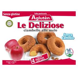 Image of Agluten Le Deliziose Ciambelle Alle Mele Senza Glutine 50g 921714109