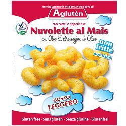 Image of Agluten Nuvolette Al Mais Con Olio Extravergine Di Oliva Senza Glutine 45g 923290302