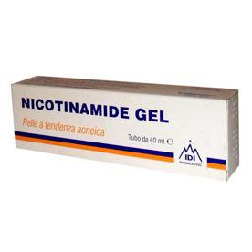 IDI Nicotinamide Gel Per Pelle Acneica 40ml