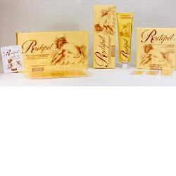 Image of Radipil depilazione uomo strisce depilatorie a strappo pronte per l'uso 12 pezzi 911013377