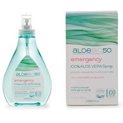 Image of Athena's AloeBio50 Emergency Spray multifunzionale aloe vera 250 ml 921906855
