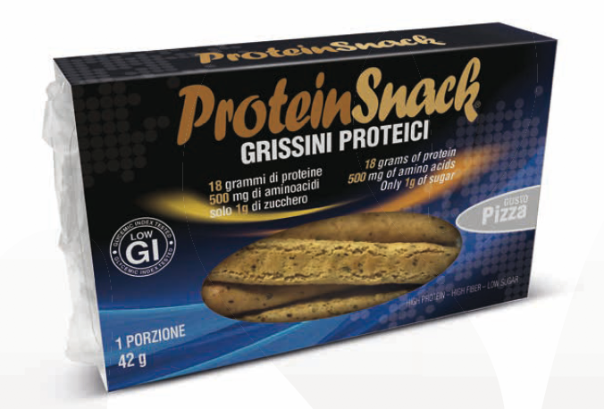 Protein Snack Grissini Proteici Gusto Pizza PromoPharma® 42g