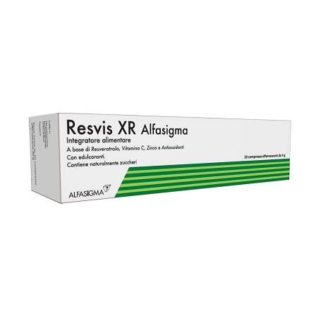 Resvis XR Alfasigma 20 Compresse Effervescenti