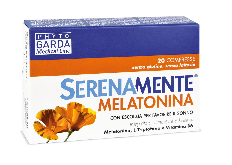 Serenamente Melatonina Phyto Garda 20 Compresse