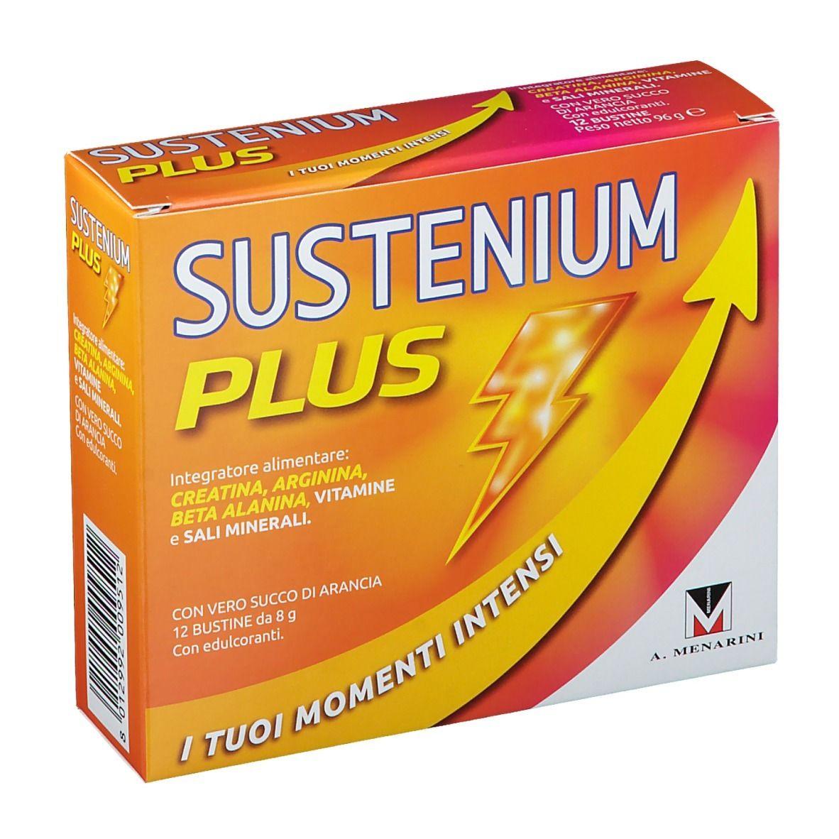 Image of Sustenium Plus Menarini 12 Bustine