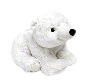 T Tex Warmies Peluche Termico Orso Polare Bianco
