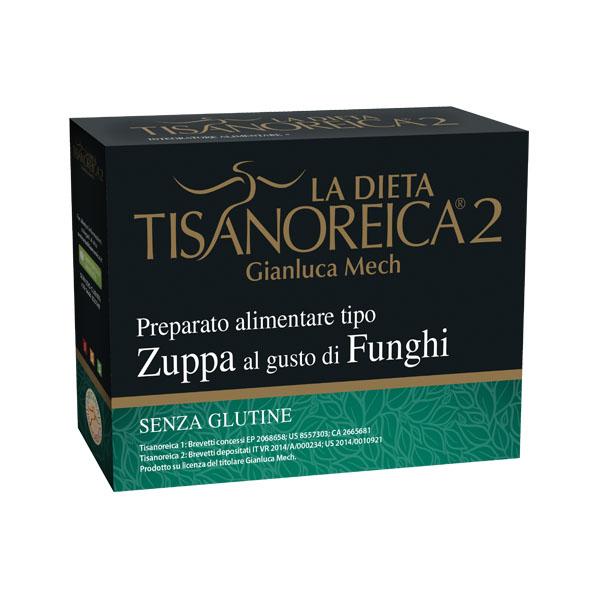 La Dieta Tisanoreica 2 Balestra & Mech Zuppa Al Gusto Di Funghi Senza Glutine 4x29g