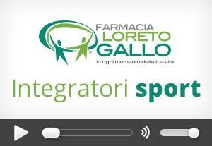 Integratori sport Farmacia Loreto Gallo