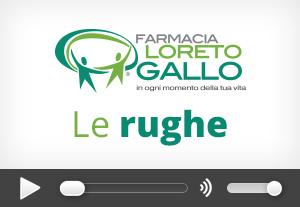 Trattamenti rughe Farmacia Loreto Gallo